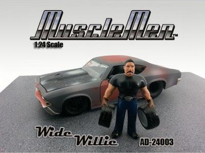 1:24 Scale American Diorama Musclemen