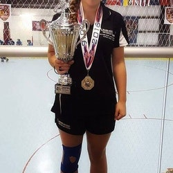 Katie Represente New Zealand at the Junior Inline Hockey Olympic in Hawaii, 2016
