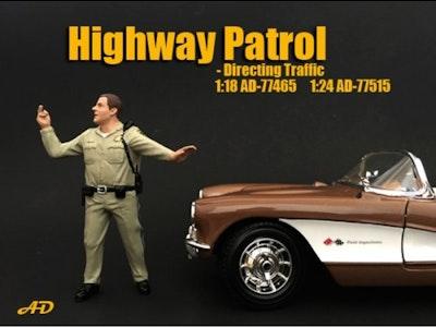 1:24 Scale American Diorama Highway Patrol