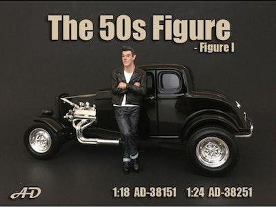 1:24 Scale American Diorama 50's Figures