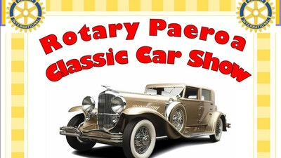 Rotary Paeroa's Vintage & Classic Car Weekend