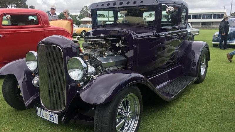 Stragglers Cambridge Rod & Kustom Charity Car Show
